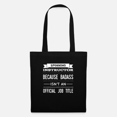 Cardio Funny Instructor Gift Badass Isn't A Job - Tote Bag