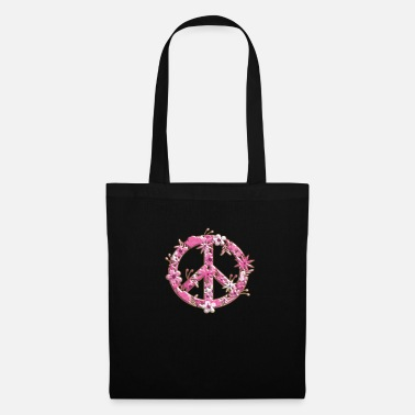 Peace Sign Peace sign peace sign peace symbol love - Tote Bag