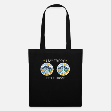 Hippie Stay Trippy Little Hippie - Tote Bag