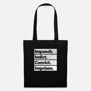 Prison Trump Impeach, Anti Trump Protest - Tote Bag