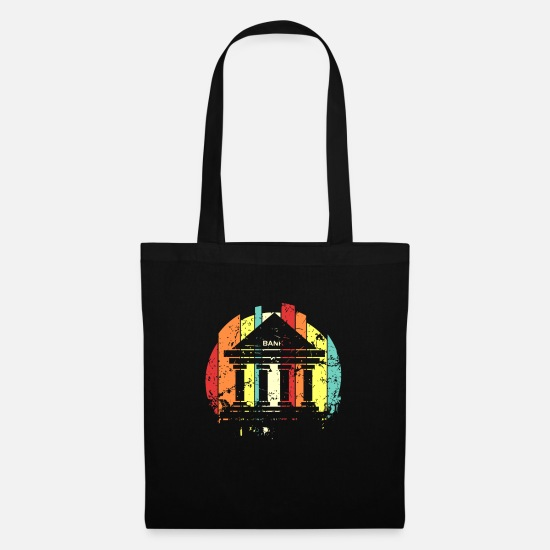 Gift Idea Bags & Backpacks - Banker banker banker banker - Tote Bag black