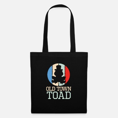 Hunters Cool Vintage The Old Town Toad Retro Toad gift - Tote Bag