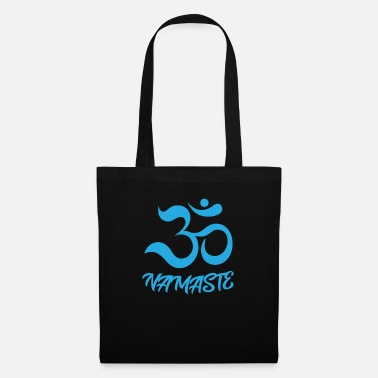 Brahma Namaste yoga zen om aum training and relax yoga - Tote Bag