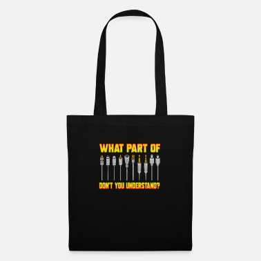 Audio Sound Engineer Music Production Dude DJ Audio Guy - Tote Bag