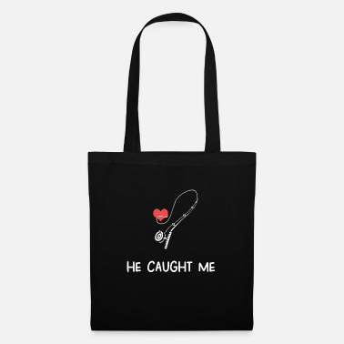 Wedding Day Rod & Hook Valentine's Day gift Rod - Tote Bag