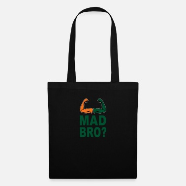 Surf Clothing Miami U Mad Bro Sports Football Fans Funny Quote - Tote Bag