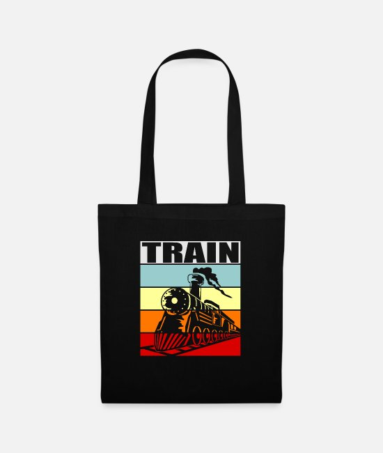 Training Bags & Backpacks - train - Tote Bag black