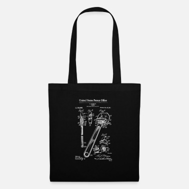 1915 Adjustable Wrench 1915 Patent Print Shirt, Wrench - Tote Bag