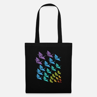 Filigree Origami crane Japanese art gift - Tote Bag