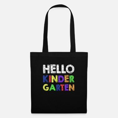 Hello Kindergarten T-Shirt Back To School Gift - Bolsa de tela