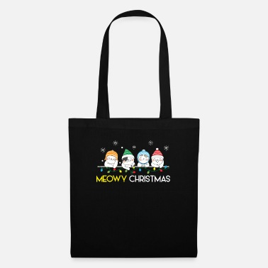 Rudolf MEOWY Christmas - Merry Cat Christmas Gift - Tote Bag
