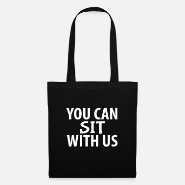 Youtube YOU CAN SIT WITH US - Tote Bag
