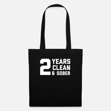 Anonymous Sober AF 2 Years product - Two Anniversary - Tote Bag