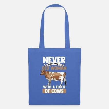Stains Cow Pensioner Grandma Käkbchen Farmer's Milk Farm Animal - Tote Bag