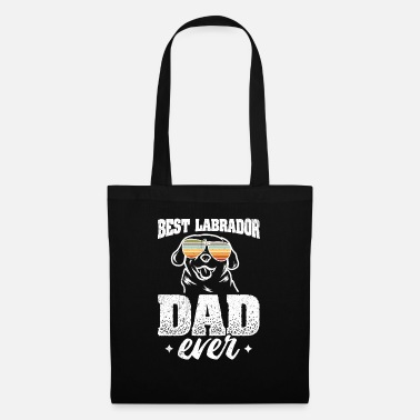 Dad Best Labrador Dad Ever - Stoffbeutel