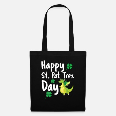 Easter Happy St Pat Trex Day Funny Saint Patrick's Day Di - Tote Bag