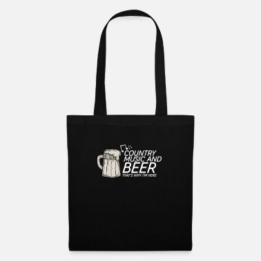 Country Country Music And Beer - Festivals & Concerts - Tote Bag