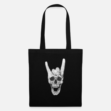 Horn Heavy Metal Music Skull Devil Horn Sign - Mulepose