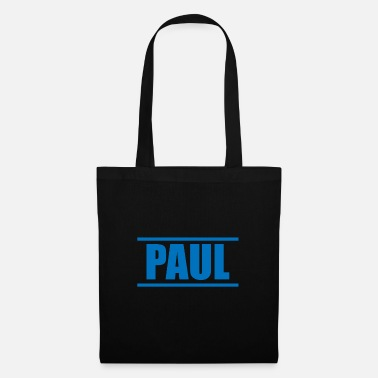 Presenteren Presenteer je voornaam - Paul! - Stoffentas
