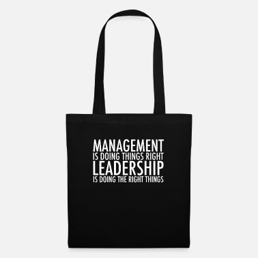 Leadership Management Leadership - Borsa di stoffa