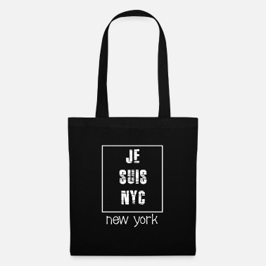 East Coast Lifestyle JE SUIS NYC - Tote Bag