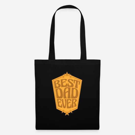 Birthday Bags & Backpacks - Best Father Award - Tote Bag black