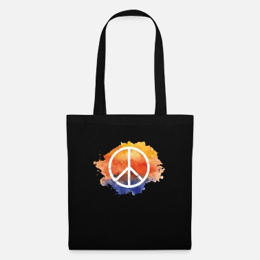Symbol Symbol peace gift world peace hippie - Tote Bag