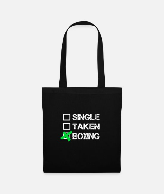 Fighter Bags & Backpacks - boxing - Tote Bag black