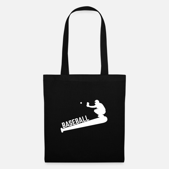 Gift Idea Bags & Backpacks - Baseball player - Tote Bag black