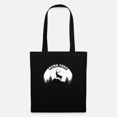 Wild Deer Deer in the wild - Tote Bag