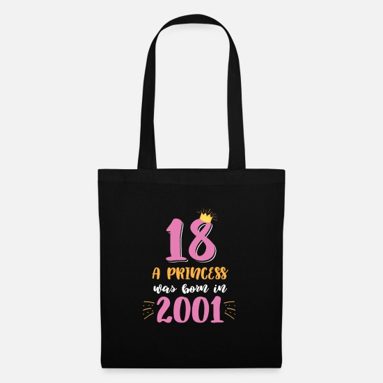 Funny Bags & Backpacks - Funny teenage girl daughter's birthday - Tote Bag black