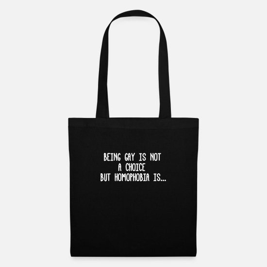 Funny Bags & Backpacks - Pride CSD Parade LGBT Love Gay Gay Lesbian - Tote Bag black