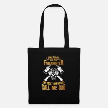 Savior Fire Department Dad Family Gift - Tote Bag