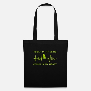 Health Vegan Heartbeat Health Gift - Tote Bag