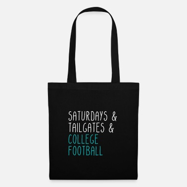 College Football Saturdays Tailgates College Football - Tote Bag
