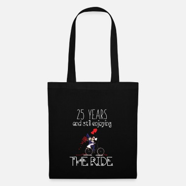 25 Years 25 Years And Still Enjoying The Ride Anniv Apparel - Kangaskassi