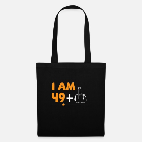 Old Bags & Backpacks - Funny gift for 50 year olds, 50 years - Tote Bag black