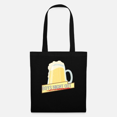 Guys Night Out Men's Evening Boys Night Out Group Shirt Gift - Tote Bag