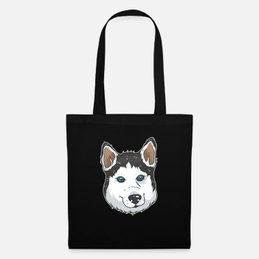 Dog Friend husky dog - dog friend - dog - Tote Bag