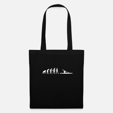 Evolution Funny Rowing Evolution Rower Gift Idea - Tote Bag