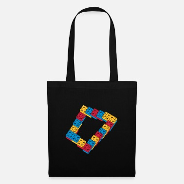 Computer Humour optical illusion - endless steps - Tote Bag
