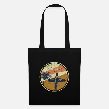 Sun Signs Summer, Beach Vibes, Surfing - Tote Bag