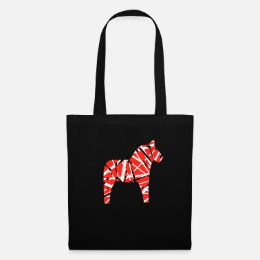 Van Halen Horse with black and - Tote Bag