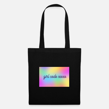 girlllll.codeeee.x - Tote Bag