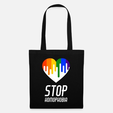 Coming Out Stop Homophobia LGBT Gay Pride CSD - Stoffbeutel