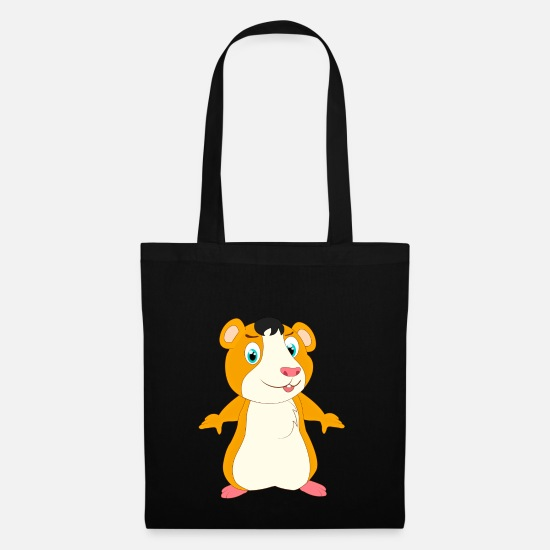 Pet Bags & Backpacks - Hamster hamster hamster hamster hamster - Tote Bag black
