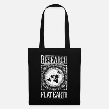 Flat Flat Earth - Flat Earth - Tote Bag