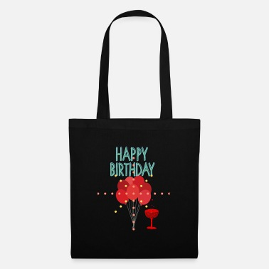 Birthday happy Birthday - Tote Bag
