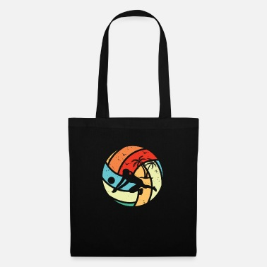 Sunday Volleyball Retro - Tote Bag