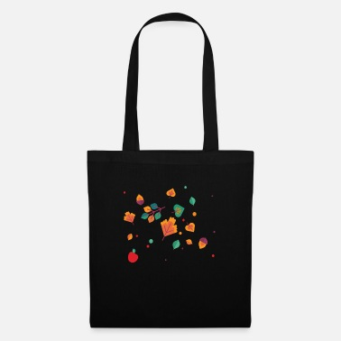 Autumn Autumn born leaves piled - Tote Bag